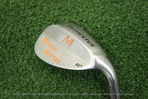 MOMENTUS POWER HITTER 60* LOB WEDGE GOOD CONDITION 126582 Used Golf
