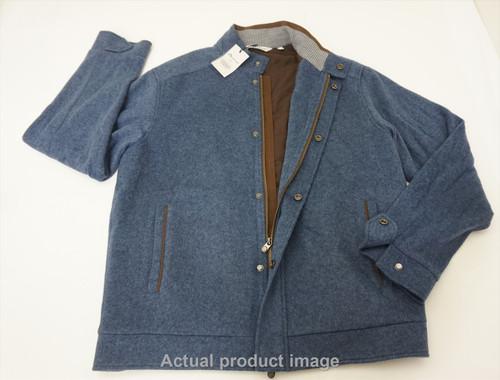 Peter Millar Crown Flex-Bomber Blazer/Sport Coat Mens Medium Blue 484B 859766
