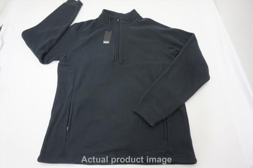 New Straight Down Golf 1/4 Zip Sweater Sweater Mens   Medium Black 499A 00863938