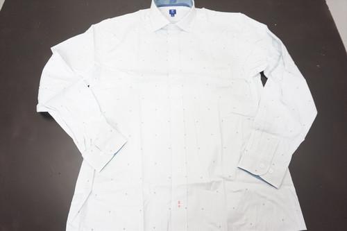New FootJoy 1857 Stretch Cotton Woven Button Down Mens Large White 515B 870744