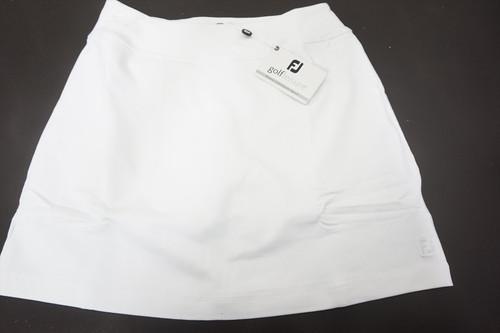 New FootJoy Performance Knit Skort Womens Size XX-Small White 520A 873279