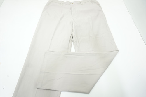 New  Ashworth Golf Classic Pants  MensSize  W36/L 32 White Regular 526B