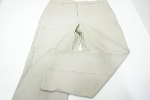 New Ashworth Golf Textured Pants Mens Size W40/L 30 Light Khaki 526A 875781
