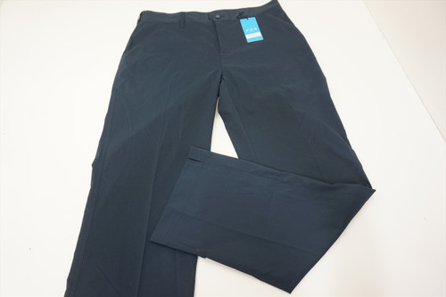 New  AUR Golf Classic Pants  Mens Size 34  Navy Regular 527A 00875811