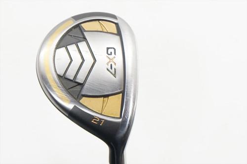 Gx-7 Golf Gx-7 X Metal 21 Degree 7 Fairway Wood Stiff Flex Graphite 0882806