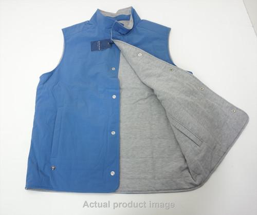 New Peter Millar Golf Reversible Vest Mens Size Medium Lunar 538A 00879734