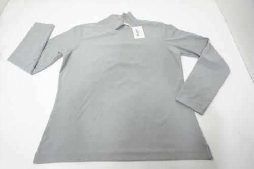 New Fairway & Greene Golf Turtle Neck Sweater Womens Size XL Grey 528B 00875853