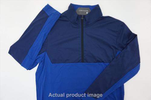 New Greyson Golf Pullover Mens Size Medium Long Sleeve  235c