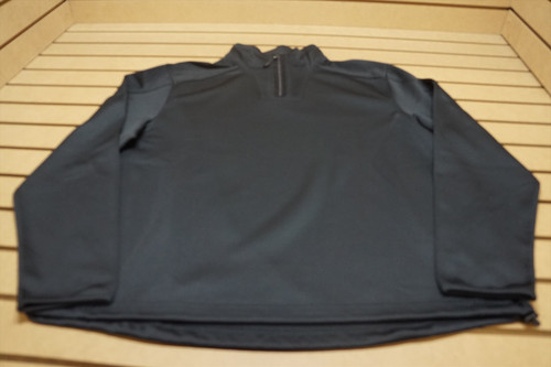 New Greg Norman Golf 1/4 Zip Fashion Pullover Mens Large Black 4A  Clothing