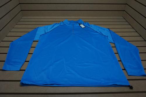 NEW Greg Norman Golf Tech Perfomance 1/4 Zip Pullover  Size Large Varsity 4b