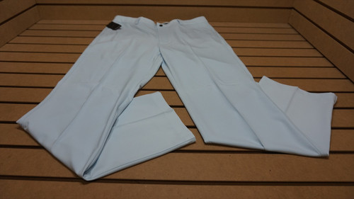 New Greg Norman Golf Technical Performance Pants Mens Size 34 32 Silver Mist 91C