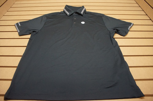 New Footjoy Golf Polo Mens Size Large Black 87D  Shirt Clothing
