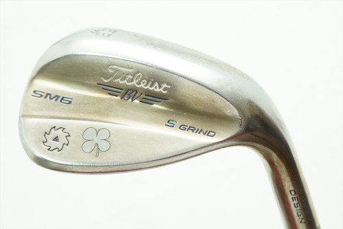 Titleist S-Grind Sm6 Steel Grey 58-10 Bounce 10 Wedge Wedge Flex Steel 0738650