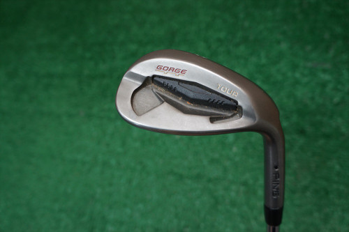 Ping Gorge Tour 58 Degree Lob Lw Wedge Flex Steel 0272106 Used Golf Black Dot