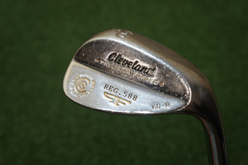 Cleveland Tour Action Reg. 588 Forged 60 Degree Lob Wedge LW Steel 269007 Used