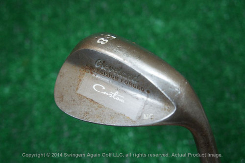 CLEVELAND PRECISION FORGED 58 DEGREE SAND WEDGE SW STEEL f134107 Used Golf