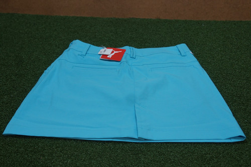 New Puma Golf Pounce Skirt Shorts Womens Size 4 Turquoise 14A  Clothing