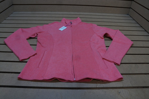 New Peter Millar Golf Full Zip Sweater Sweater Womens Size Small  Scarlet 89D