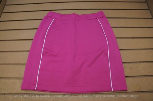 Nwtags Wo Fairway & Greene Performance Stretch Golf Skort Small Pink 00113631