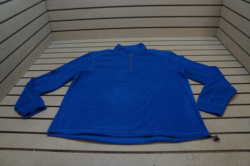 New Greg Norman Golf Technical Performance Pullover Mens Size Large Blue 97A