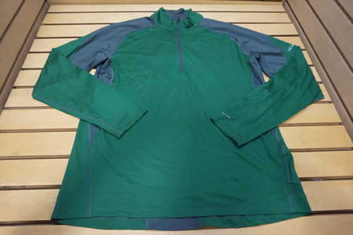 New Columbia Golf Freeze Degree Ii Pullover Mens Size Large  Forest  92C