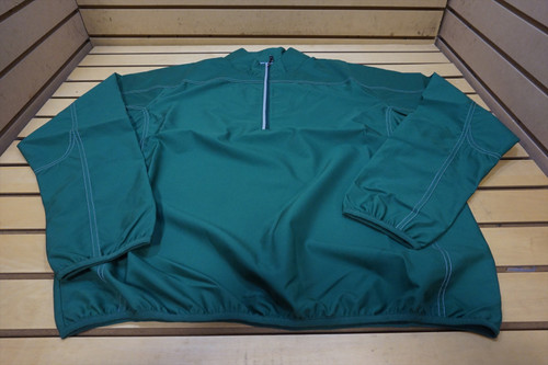 New Nike Golf Weathertec 1/4 Zip Pullover Mens Size Large Green  66D