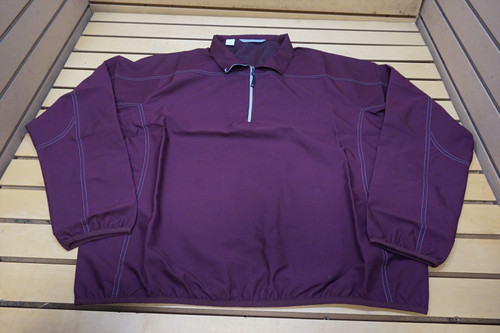 New Nike Golf Weathertec 1/4 Zip Pullover Mens Size Large Maroon  66D