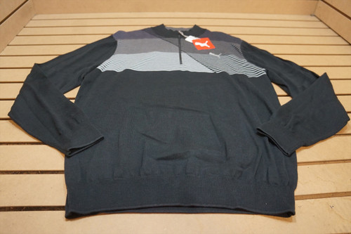New Page & Tuttle Golf Zip-Up Jacket Mens Size Large Grey 91A Outerwear