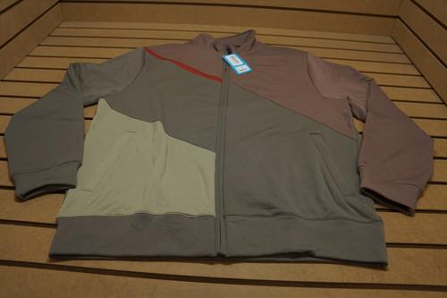 New Aur Golf Full Zip Jacket Mens Size Xl Brown W/Logo 90A Outerwear