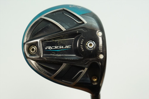 Callaway Rogue Sub Zero 9 Degree Driver Extra Stiff Flex Synergy Graphite 895215