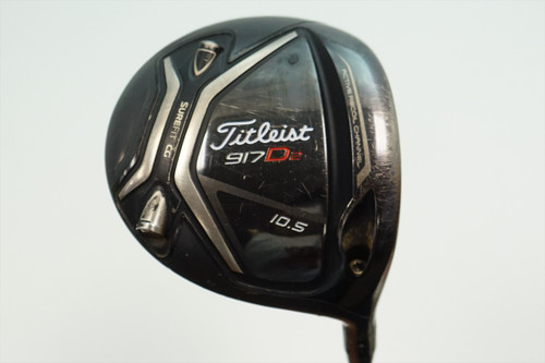 Titleist 917D2 Dented 10.5 Degree Driver Regular Flex Bassara Graphite 0895202