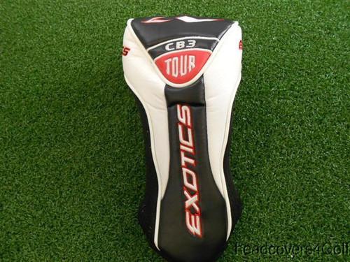 Tour Edge Exotics CB3 Tour Driver Headcover Used Golf Head Cover
