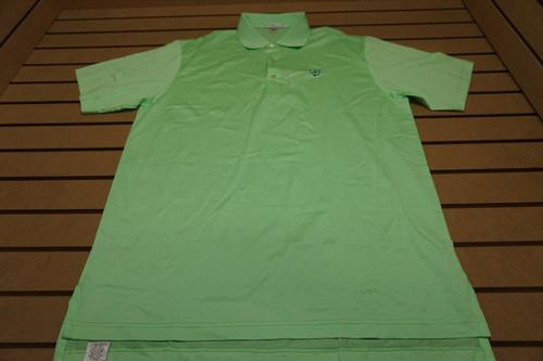 New Peter Millar Golf Polo Mens Size Large Wintergreen W/Logo 79C Shirt