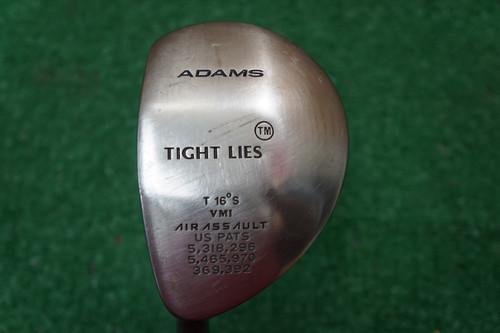 Adams Tight Lies 16 Degree 3 Fairway Wood Ladies Flex Graphite 0620579 LH