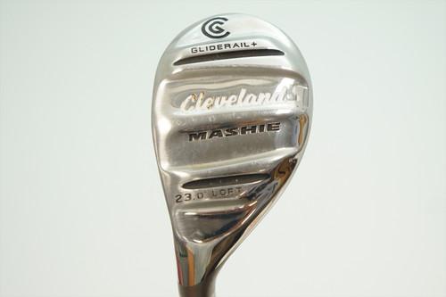 Cleveland Mashie 23° 4H Hybrid Regular Flex Miyazaki 0914794 Excellent Left Hand