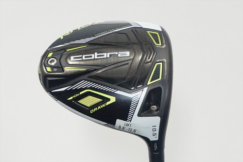 Cobra Rad Speed Xd 10.5° Driver Regular Flex Stock Shaft 0917373 Good