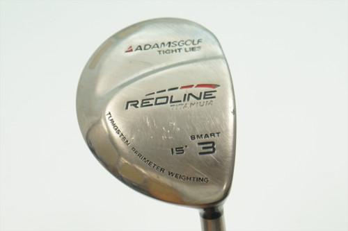 Adams Redline 15° 3 Fairway Wood Stiff Flex Fujikura 0906037 Good
