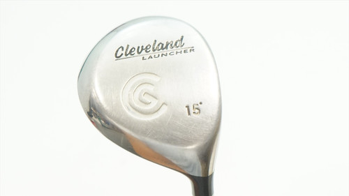 Cleveland Launcher 15° 3 Fairway Wood Extra Stiff Flex Launcher Gold 918916 Good