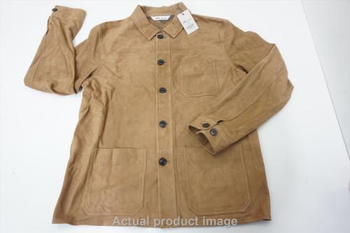 New Peter Millar Golf Blazer Jacket Mens Size Medium Beige 535A 00878836