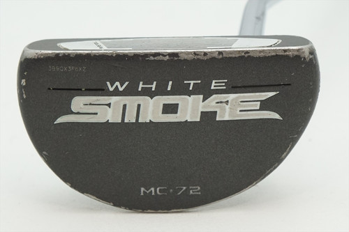 "Taylormade White Smoke Mc-72 35"" Putter Good Rh 0933793 Super Stroke Grip"
