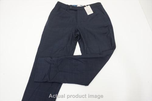 New  Peter Millar Golf Wool Pants  Womens Size 4  Navy Regular 533A