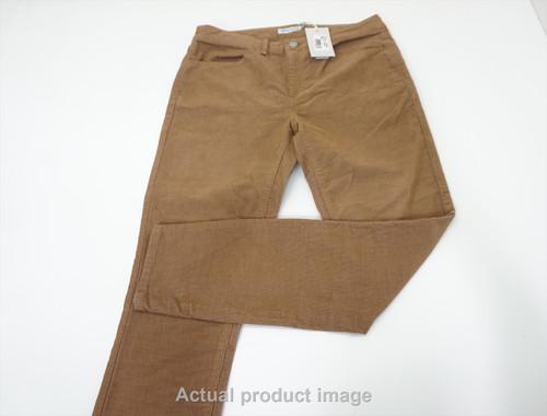 New  Peter Millar Golf Cordoy Pants  Womens Size 2  Khaki Regular 533A