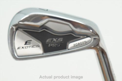Tour Edge Exs Pro Forged 7 Iron Stiff Flex Dynamic Gold 105 Steel 0940846 Good
