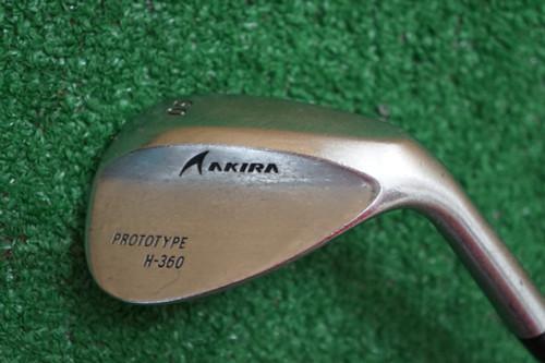 Aakira Prototype H-360 60 Degree Regular Flex Steel 0283346 Good Used Golf Club