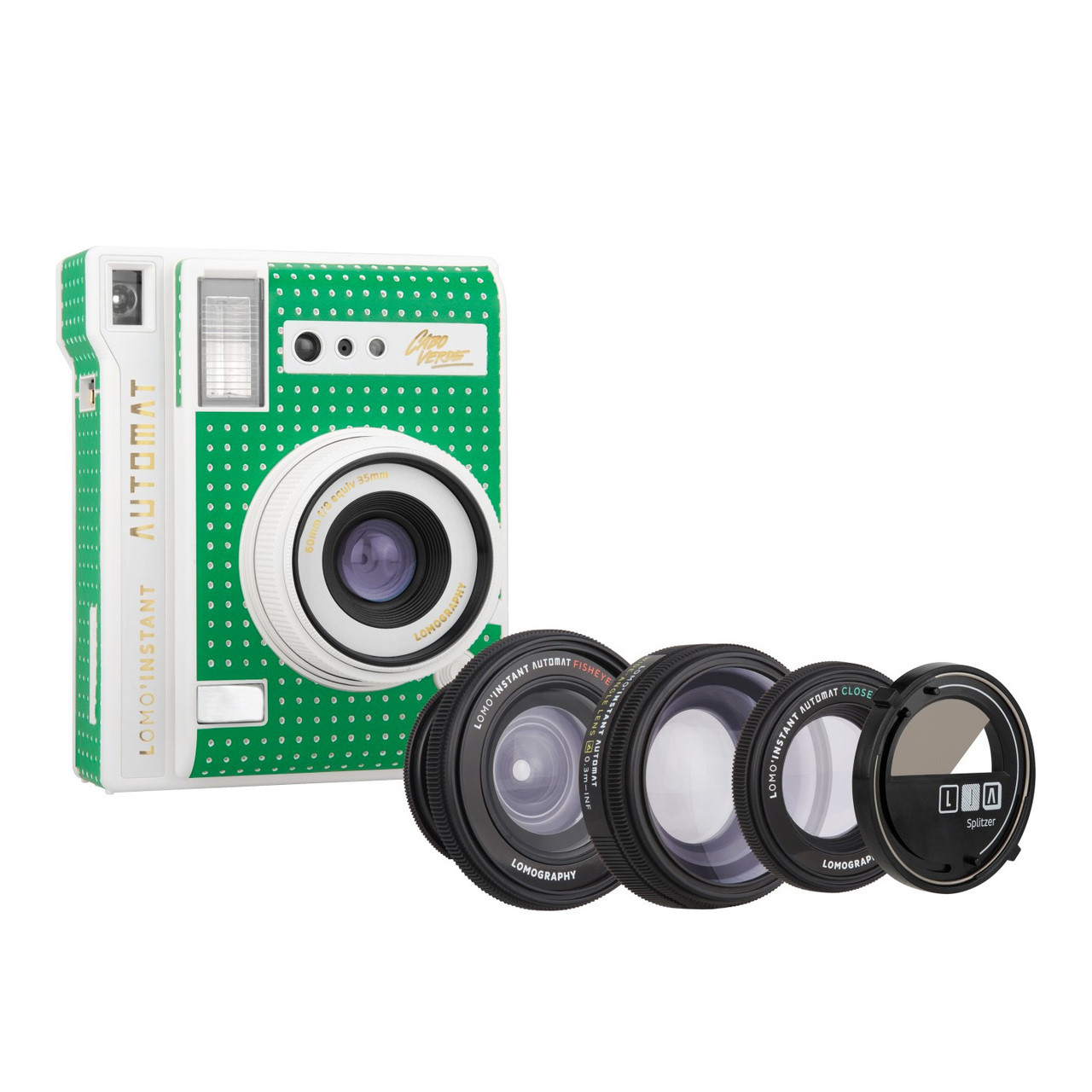 Lomoinstant Automat Camera Kit Cabo Verde Edition Dream In Plastic 3 Pack Fujifilm Instax Film Wide Twin