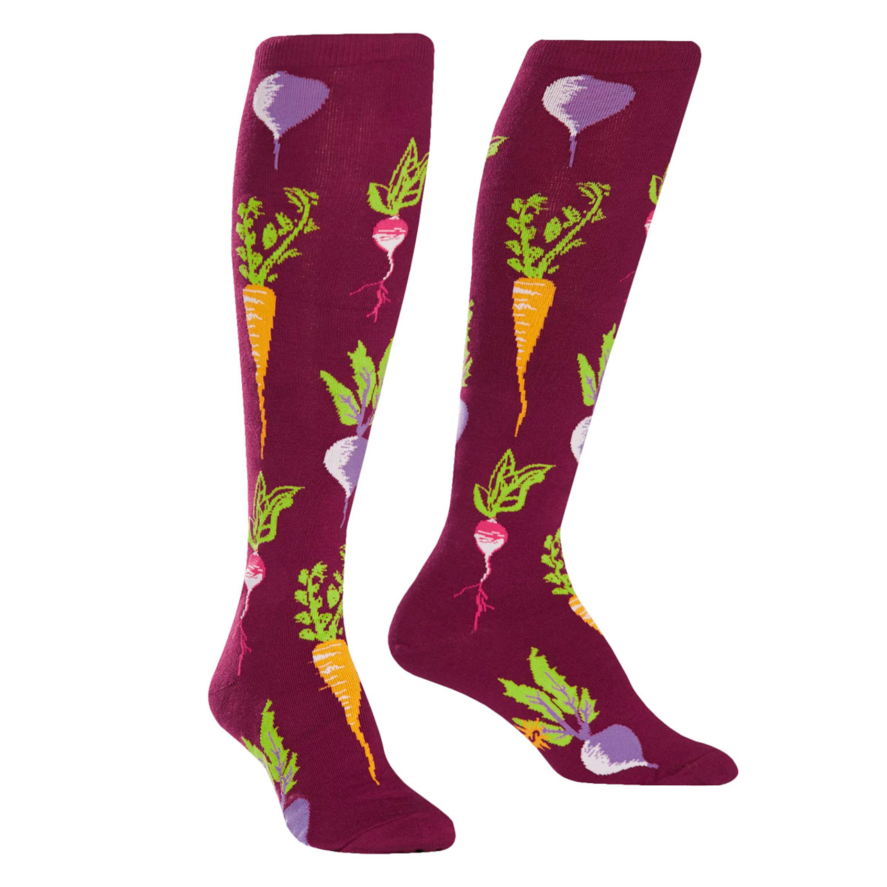 8aef9be00d3 Turnip the Beet! Knee-High Socks - Dream in Plastic