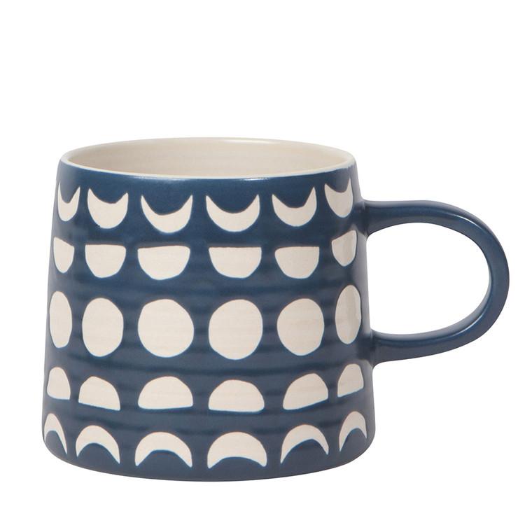 Moon Phase Imprint Mug