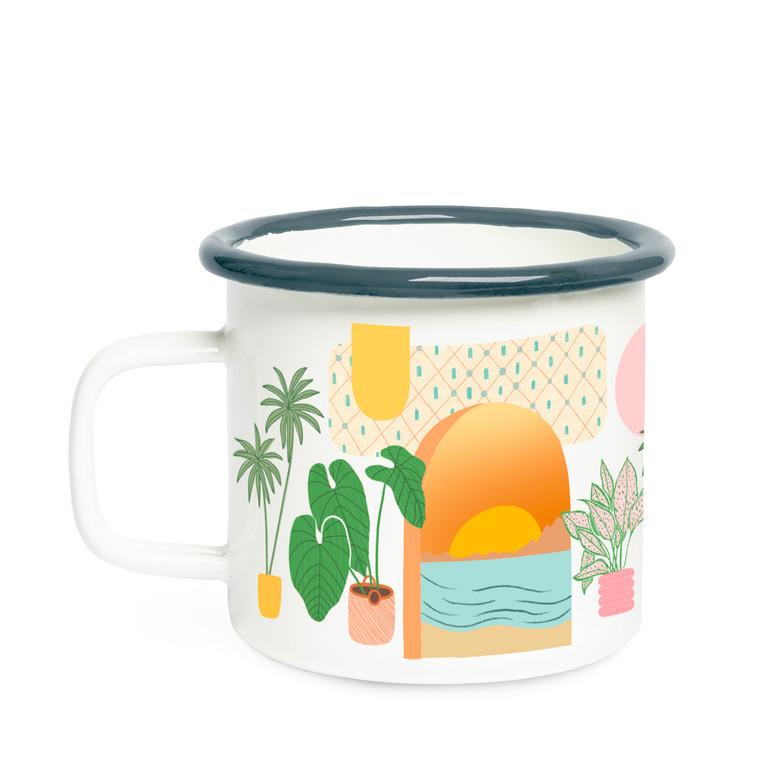 Golden Hour Campfire Mug