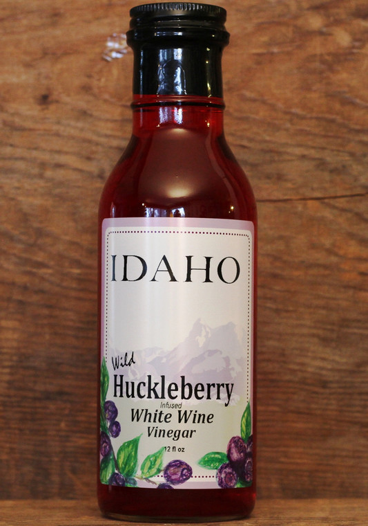 IDAHO Huckleberry Infused White Wine Vinegar