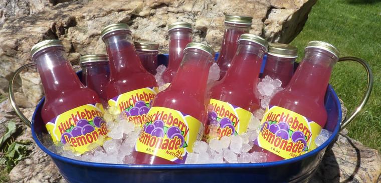 Huckleberry Lemonade Ready to Drink - 10 oz bottle